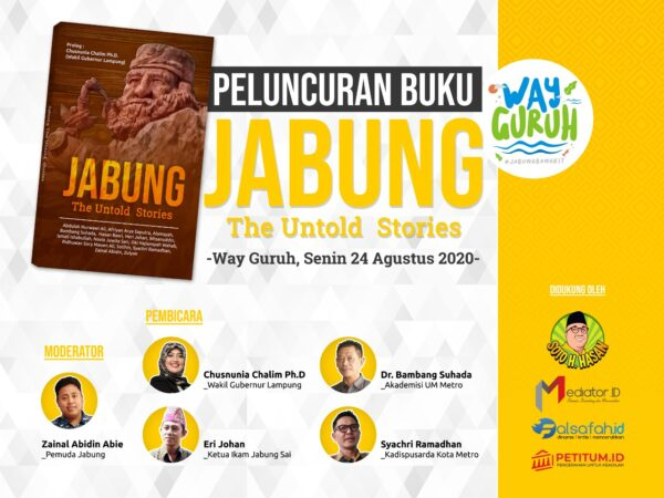 Buku 'Jabung The Untold Stories' Didiskusikan di Way Guruh Jabung